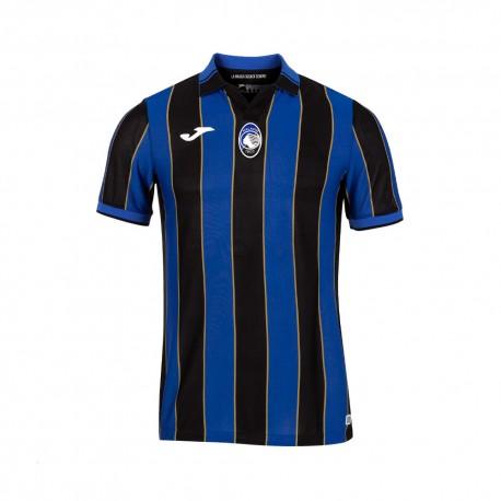 Joma Sport Maglia Atalanta Replica 21/22 Blu Nero Bambino