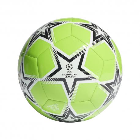 ADIDAS pallone da calcio ucl club pyrostorm verde bianco