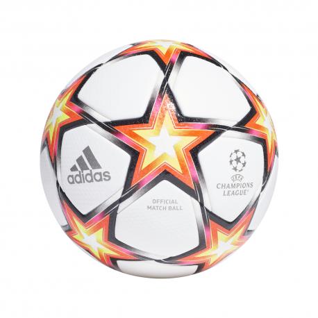 ADIDAS pallone da calcio ucl pro pyrostorm bianco rosso
