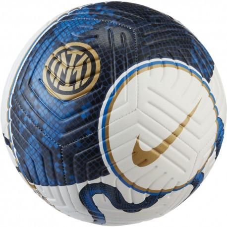 Nike Pallone Da Calcio Inter Strk Fa21 Bianco Blu
