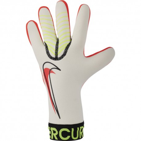 Nike Guanti Calcio Merc Touch Victory Bianco Arancio Uomo