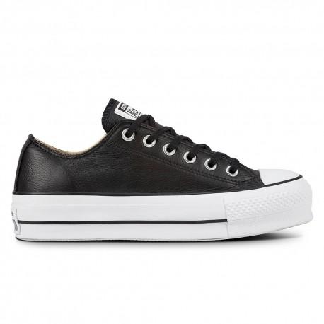 Converse Sneakers All Star Lift Lea Nero Bianco Donna