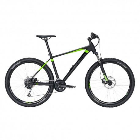 """Bulls MTB Mountain Bike Bushtail 29"""" Nero Matt Lime Uomo"""