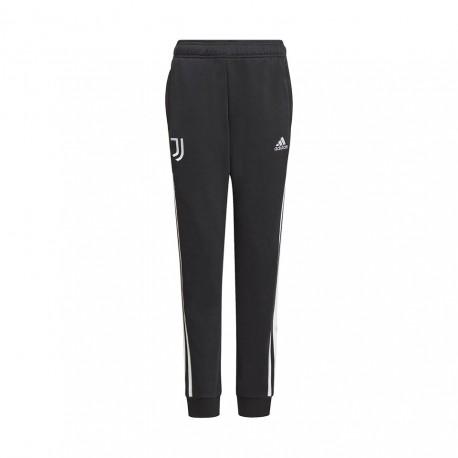 ADIDAS pantaloni allenamento juve nero bianco bambino