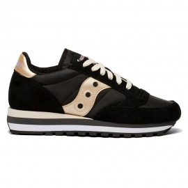 Saucony Sneakers Jazz Triple Blakc Rose Donna
