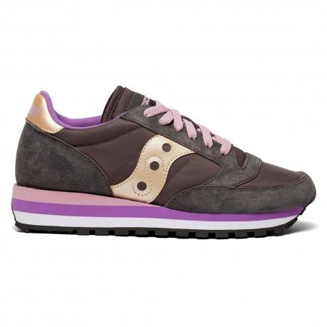 Saucony Sneakers Jazz Triple Grigio Rose Donna