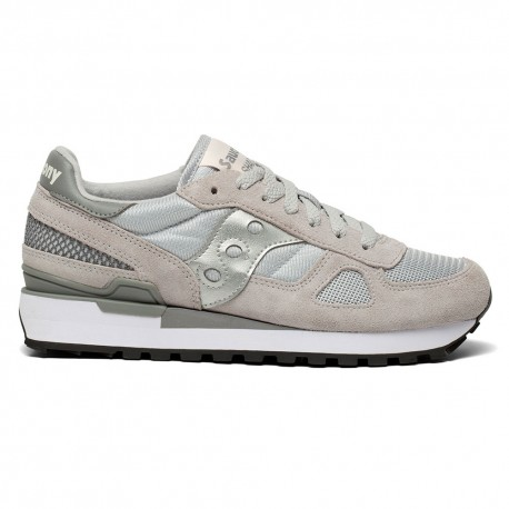 Saucony Sneakers Shadow O Grigio Argento Donna