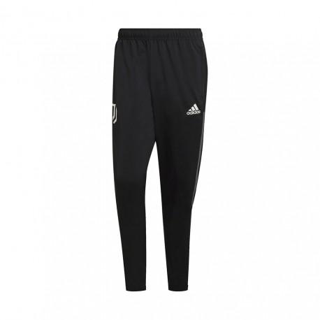 ADIDAS pantaloni allenamento calcio juve nero bianco uomo