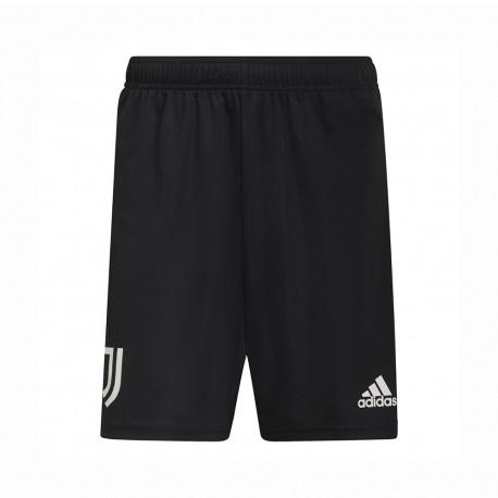 ADIDAS pantaloncini calcio juve training nero bianco uomo