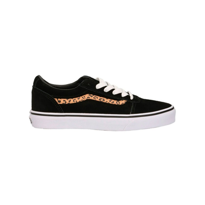 Vans Sneakers Ward Lace Gs Nero Cheetah Bambino