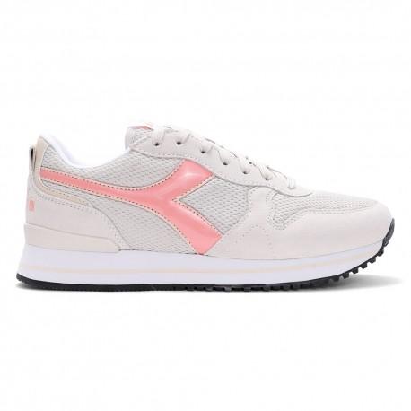 Diadora Sneakers Olympia Platform Bianco Rosa Donna