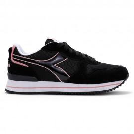 Diadora Sneakers Olympia Platform Nero Rosa Donna