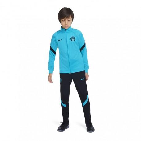 Nike Tuta Calcio Inter Strike Verde Nero Bambino