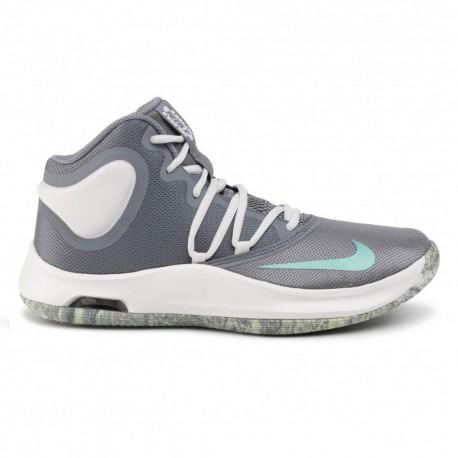 Nike Scarpe Basket Air Versitile Iv Grigio Bianco Uomo