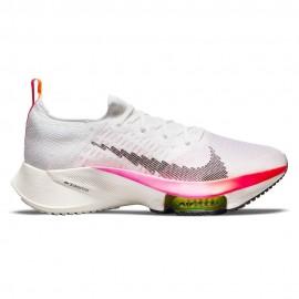 Nike Scarpe Running Air Zoom Tempo Next% Bianco Nero Uomo