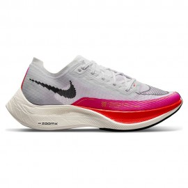 Nike Scarpe Running Zoomx Vaporfly Next% Bianco Nero Donna