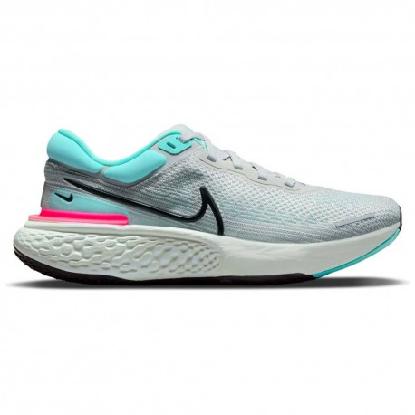 Nike Scarpe Running Zoomx Invincible Run Flyknit Grigio Nero Uomo