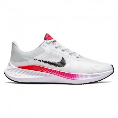 Nike Scarpe Running Winflo 8 Bianco Nero Uomo