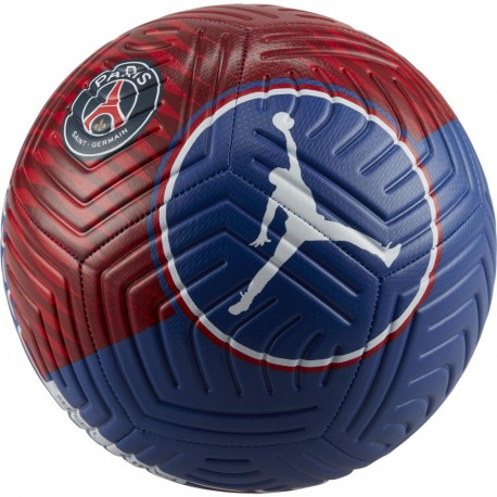 Nike Pallone Da Calcio Psg Strike Jordan Ho21 Blu Rosso