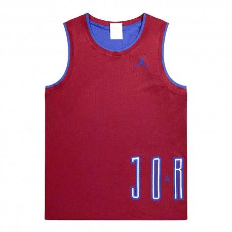 Nike Canotta Logo Jordan Bordeaux Uomo
