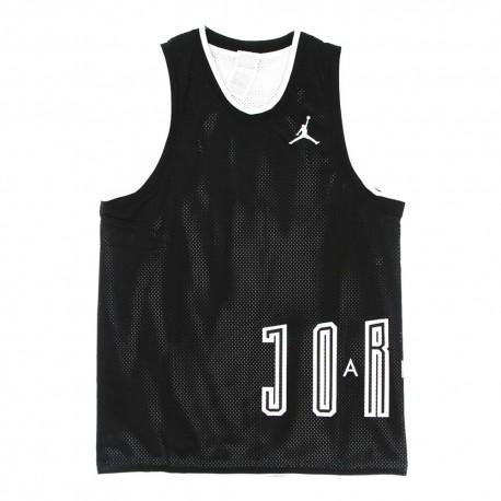 Nike Canotta Logo Jordan Nero Uomo