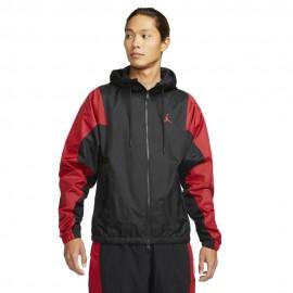 Nike Giacca Wovent Jordan Nero Uomo