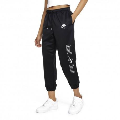 Nike Pantaloni Con Polsino Air Nero Donna