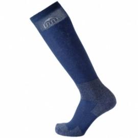Mico Sport Calze Trekking Lunghe 3042 Blu Melange Unisex