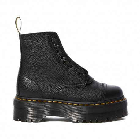 Dr Martens Sinclair Milled Nappa Nero Donna