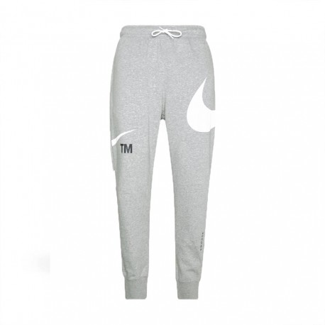 Nike Pantaloni Con Polsino Swoosh Grigio Uomo