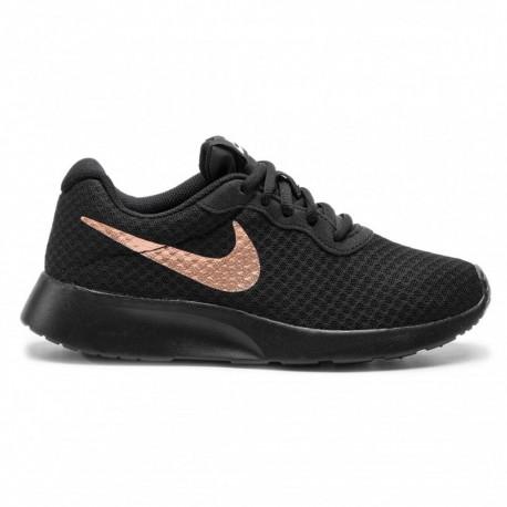 Nike Tanjun Nero Rosa Donna