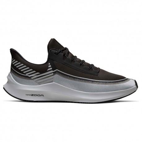 Nike Zoom Winflo 6 Nero Argento Uomo