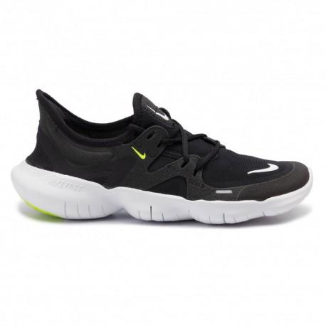 Nike Free Rn 5.0 Nero Bianco Donna