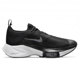 Nike Scarpe Running Air Zoom Tempo Next% Nero Bianco Donna
