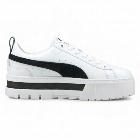 Puma Sneakers Mayze Lea Bianco Nero Donna