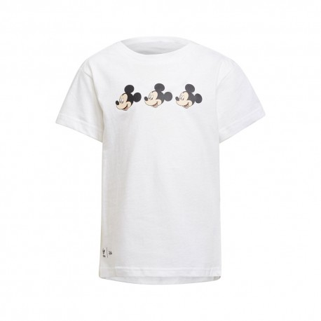 ADIDAS originals t-shirt miki mouse nero bambina