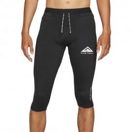 Nike Pantaloni Trail Running 3 4 Df Gx Nero Uomo
