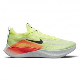 Nike Zoom Fly 4 Barely Volt Nero Uomo