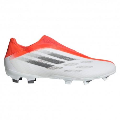 ADIDAS scarpe da calcio x speedflow .3 ll fg bianco rosso uomo