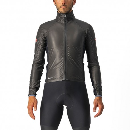 Castelli Giacca Ciclismo Idro Pro 3 GORE-TEX Nero Uomo