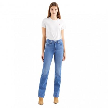 Levi's Jeans 725 Bootcut Blu Donna