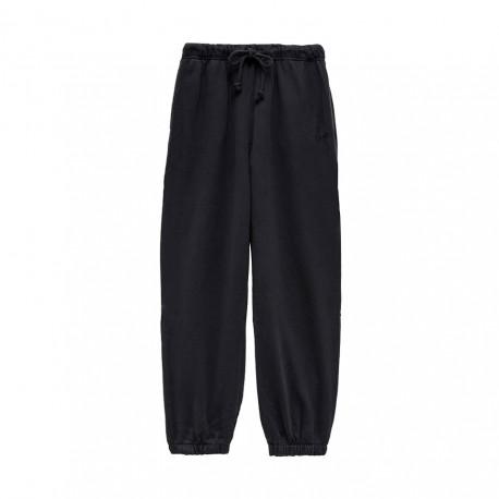 Levi's Pantaloni Con Polsino Nero Donna