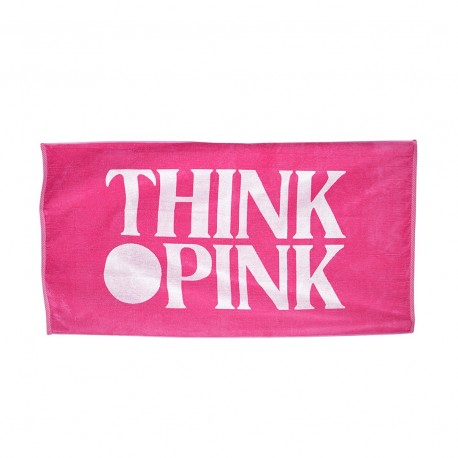 Think Pink Telo In Spugna Fuxia