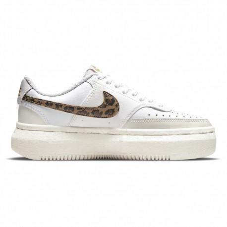 Nike Court Vision Alta Lea Bianco Maculato Donna