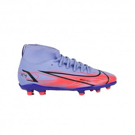 Nike Mercurial Superfly 8 Club Km Fg Mg Azzurro Bambino