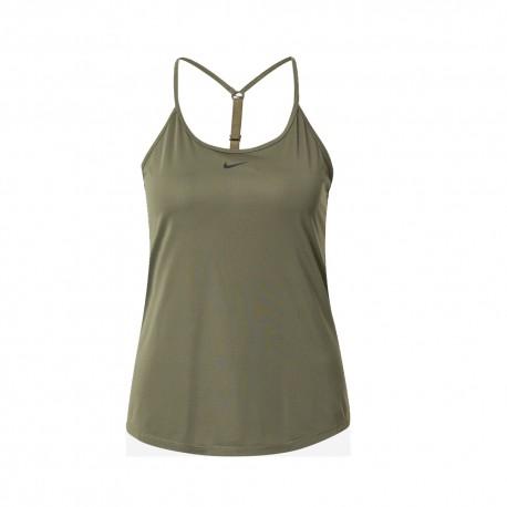 Nike Canotta Elastika Armi Verde Donna