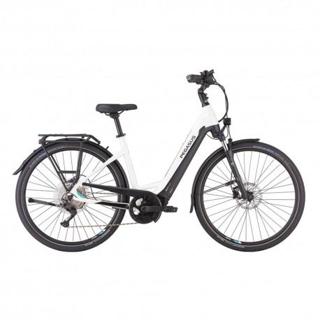 Pegasus City Bike Elettrica Evo 10 Bianco Nero Uomo