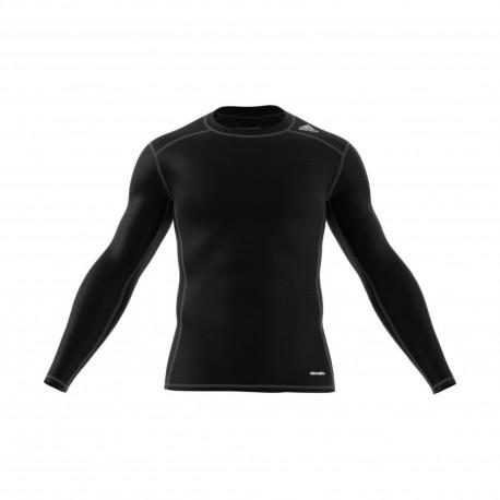 Adidas T-Shirt Ml Techfit Nero