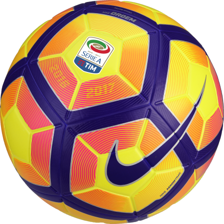 Nike Pallone Ordem 4 Serie A Giallo/Viola