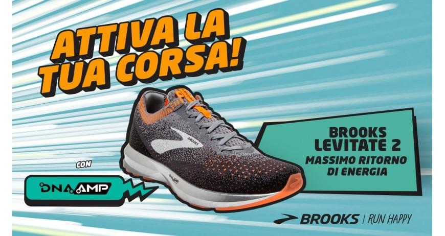 BROOKS DNA AMP - La Nuova Levitate 2 #BROOKSRUNNING